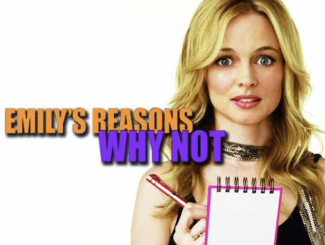 Emily's Reasons Why Not promo poster