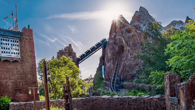 Expedition Everest at Disney World