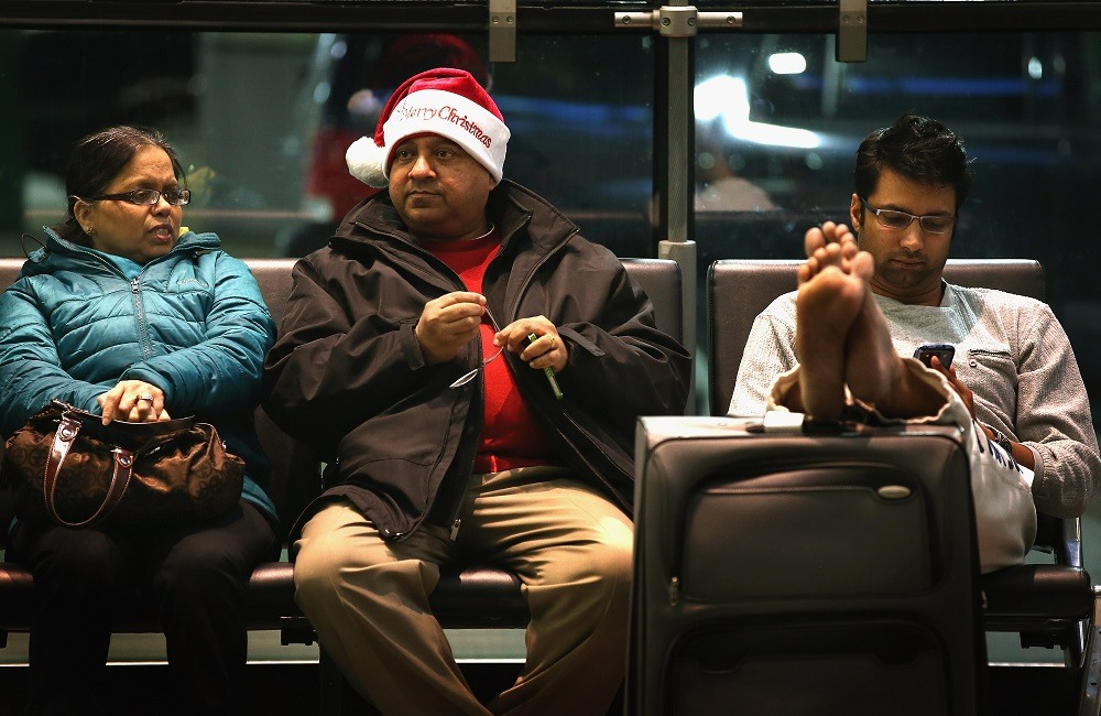 O'Hare is one of the worst airports in the United States for flying during Christmas holiday.