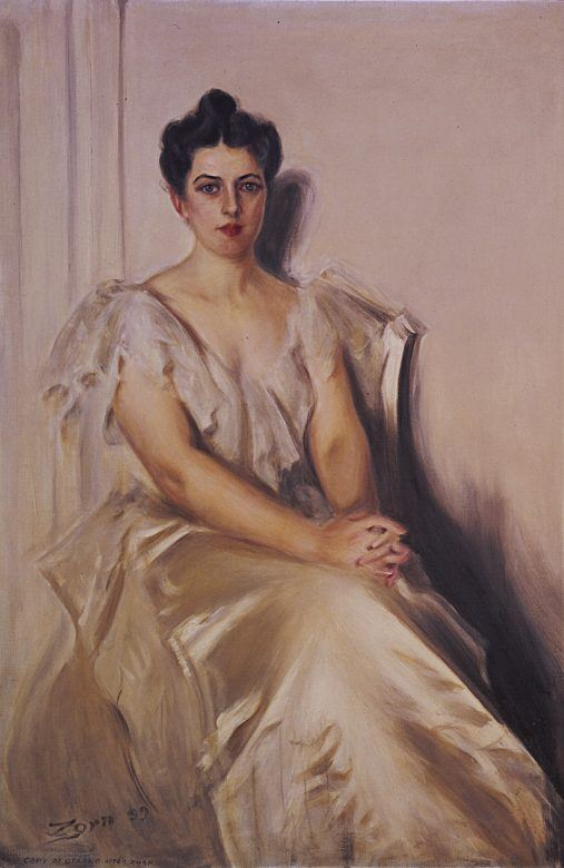 Frances Folsom Cleveland portrait