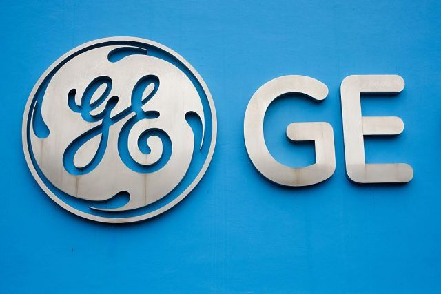 General Electric sign