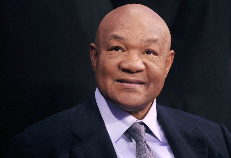 Boxer George Foreman