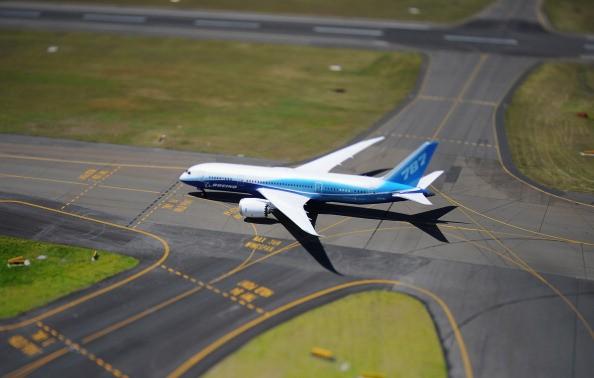 Boeing Dreamliner plane