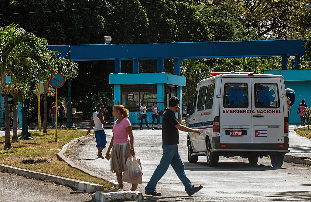 an ambulance in Cuba
