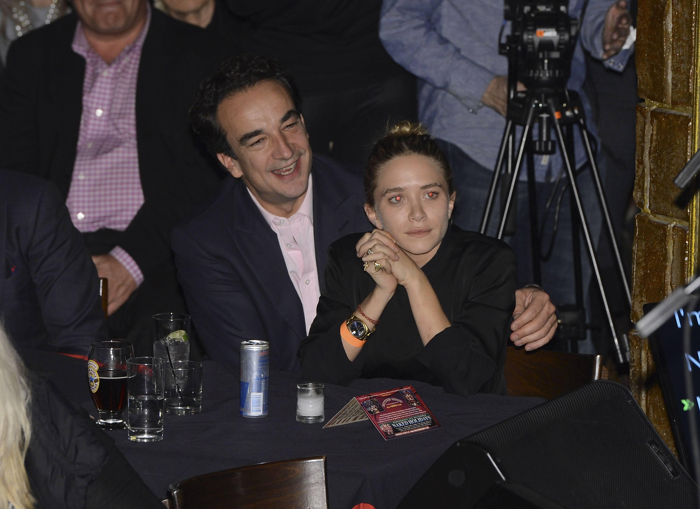 Olivier Sarkozy and Mary-Kate Olsen