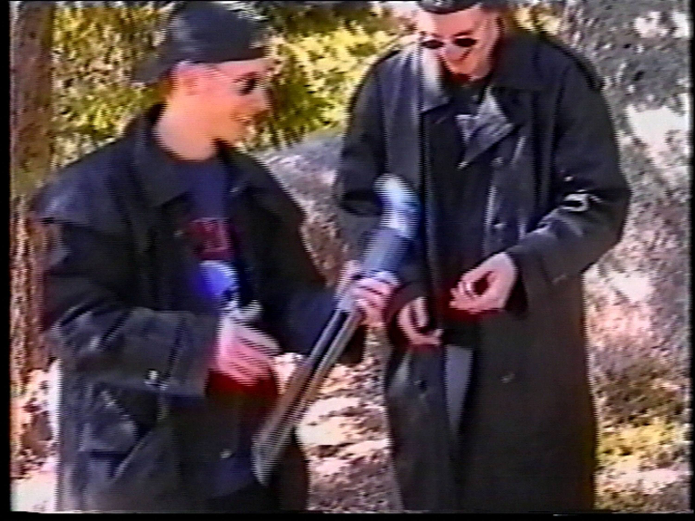 Columbine Killers Practice Shooting At Rifle Range