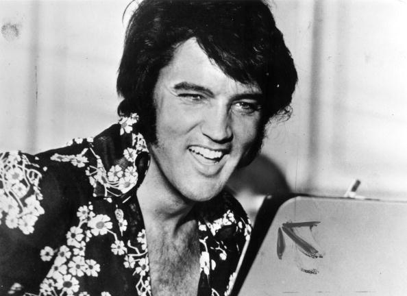 Elvis laughing