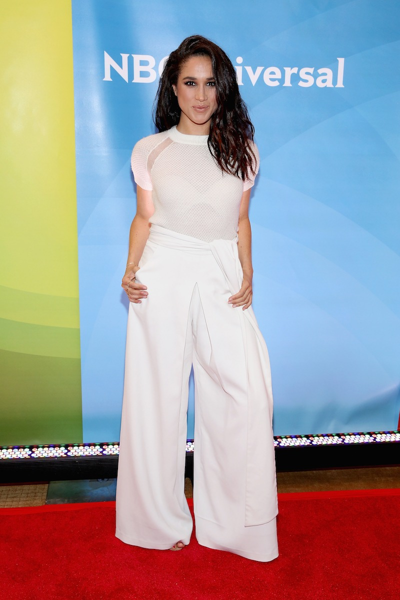 Meghan Markle attends the NBC's 2015 New York Summer Press Day at Four Seasons Hotel New York on June 24, 2015 in New York City.