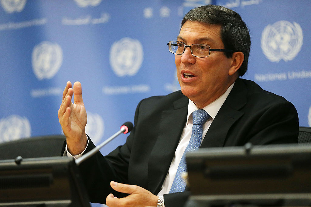 Cuban Foreign Affairs minister speaks