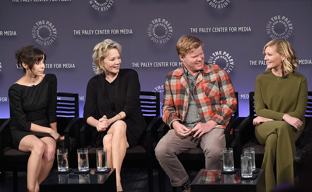 (L-R) Cristin Milioti, Jean Smart, Jesse Plemons, and Kirsten Dunst attend PaleyFest New York 2015 for Fargo