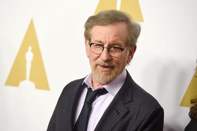 Steven Spielberg at the Academy Awards.