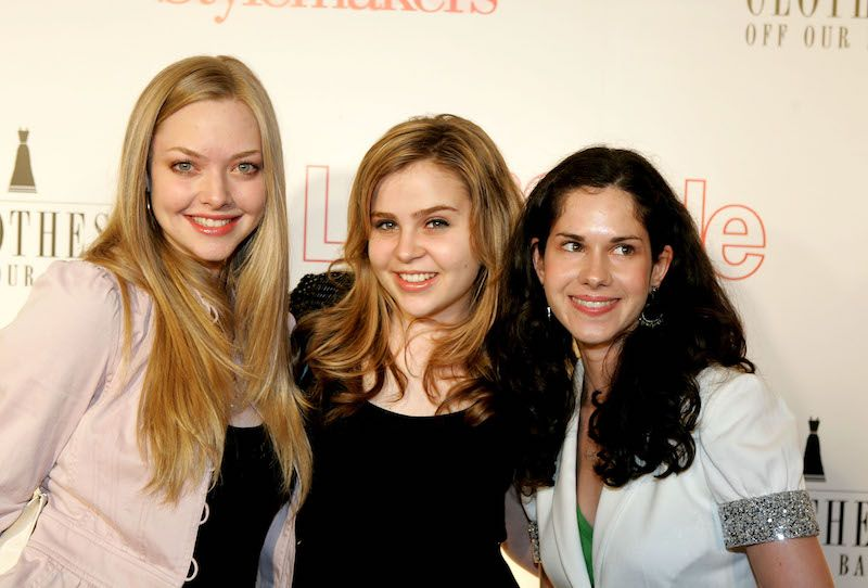 Actresses Amanda Seyfried, Mae Whitman and Annie Quinn arrive at Life & Style Magazine's Stylemakers