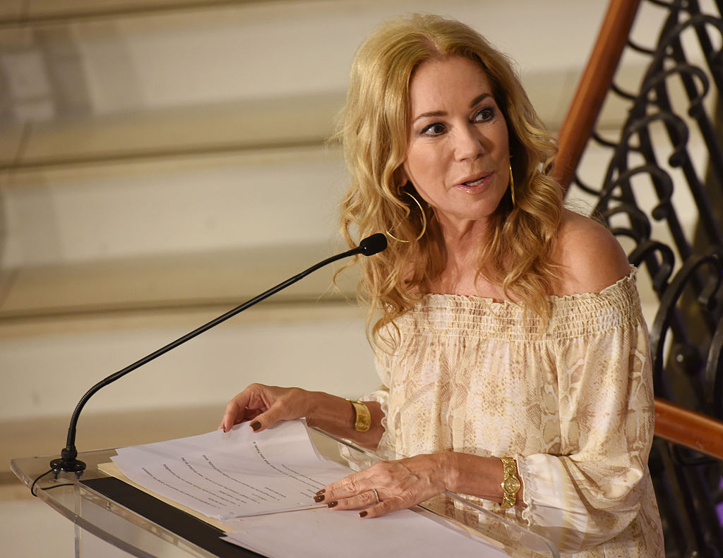 Kathie Lee Gifford speaks at the Changemaker Honoree Gala at the 2016 Greenwich International Film Festival - Day 2 at Richards on June 10, 2016 in Greenwich, Connecticut.