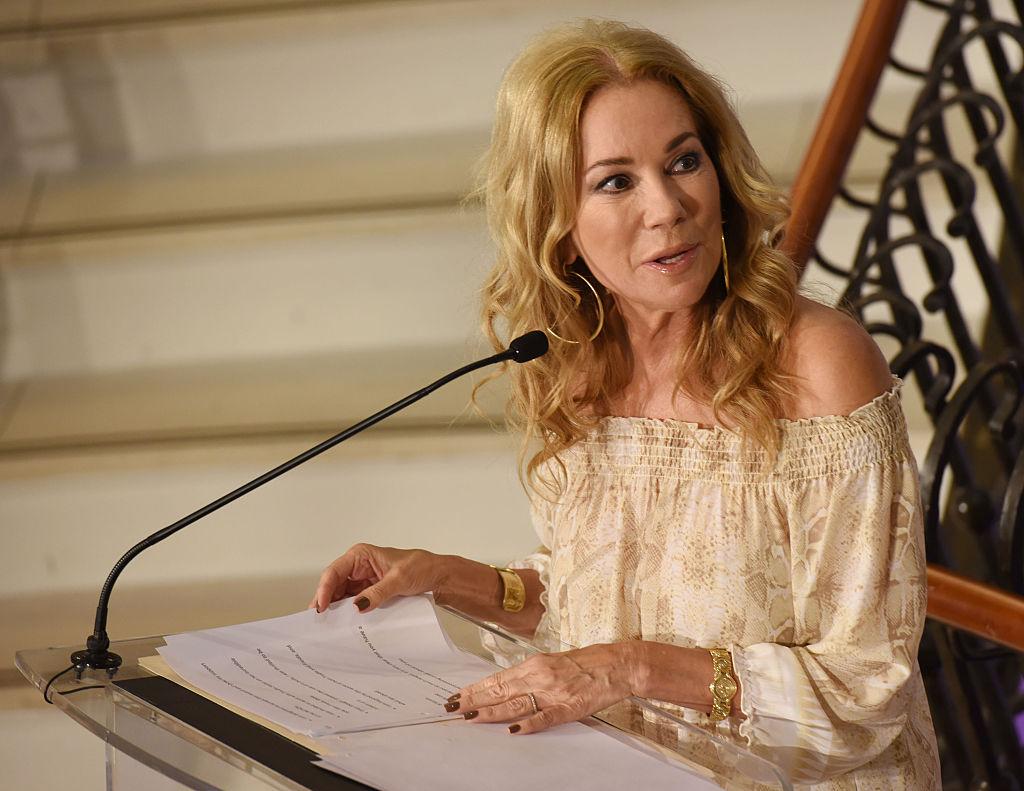 Kathie Lee Gifford speaks at the Changemaker Honoree Gala