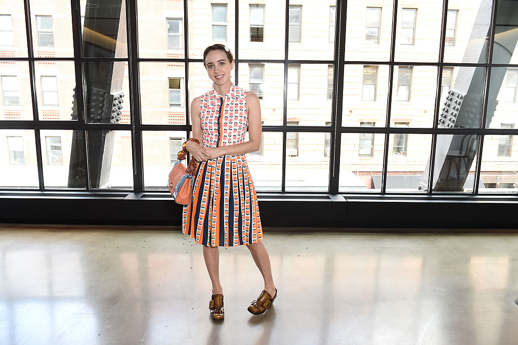 Actress Zoe Kazan attends a luncheon hosted by Glamour and Facebook to discuss the 2016 election at Samsung 837 in NYC on July 11, 2016 in New York City.