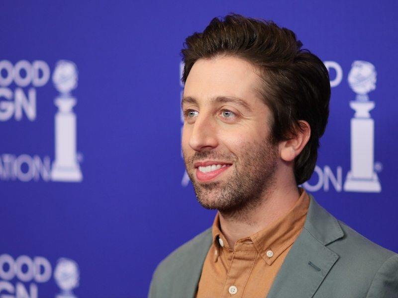 Simon Helberg attends the The Hollywood Foreign Press Association (HFPA) Annual Grants Banquet, in Beverly Hills, California,