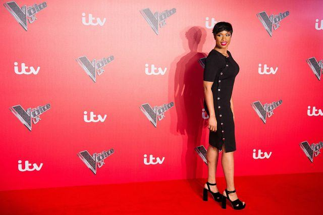 Jennifer Hudson arrives for the press launch of The Voice UK.