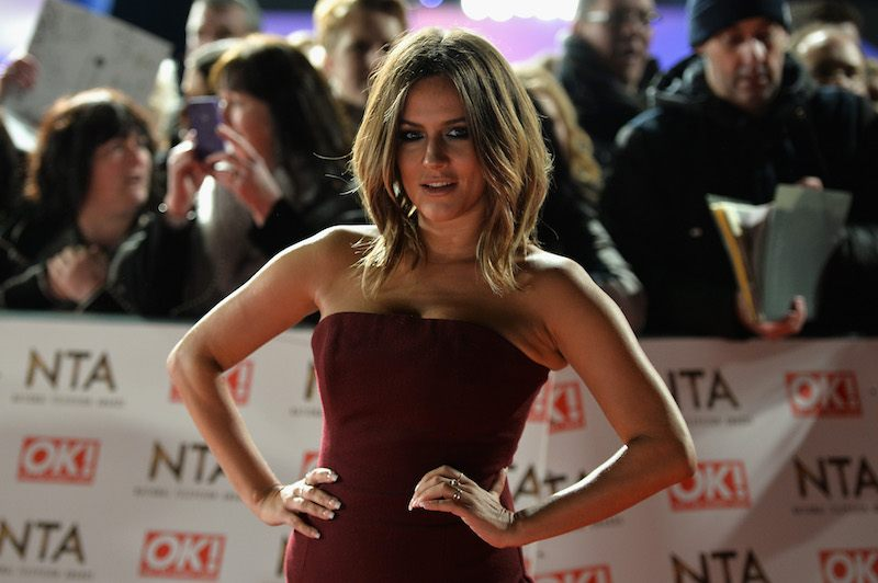 Caroline Flack attends the National Television Awards on January 25, 2017