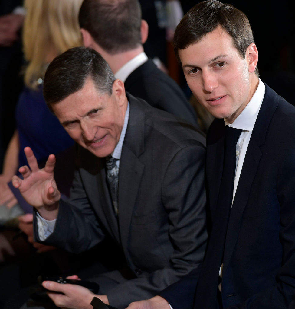 Michael Flynn and Jared Kushner