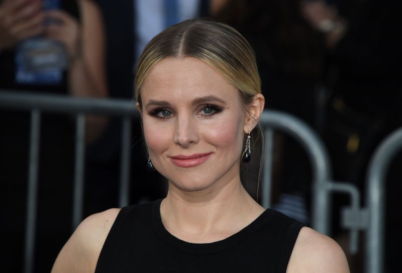 Actress Actress Kristen Bell arrives for the film premiere of 'CHiPS' at the TCL Chinese Theatre in Hollywood, California