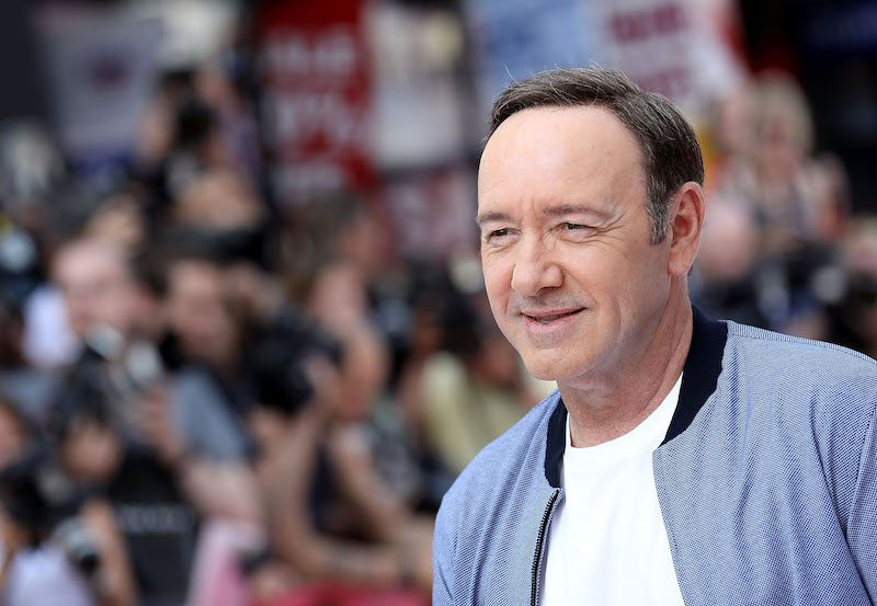 "Kevin Spacey attends the European Premiere of Sony Pictures ""Baby Driver"" on June 21, 2017 in London, England."