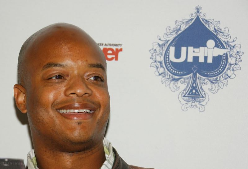 Actor Todd Bridges poses for photographers at the Urban Health Institutes second annual celebrity poker championship