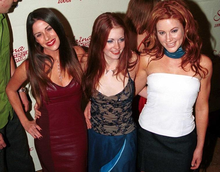 Soleil Moon Frye, Melissa Joan Hart, and and Elisa Donovan