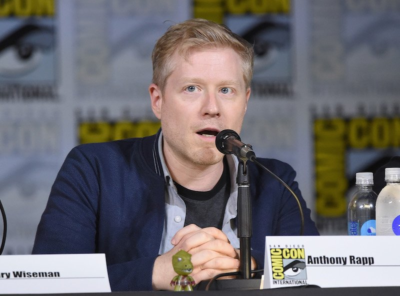 "Anthony Rapp attends the ""Star Trek: Discovery"" panel during Comic-Con International 2017"