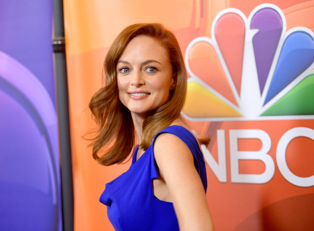 Heather Graham at the NBCUniversal Summer TCA Press Tour at The Beverly Hilton Hotel on August 3, 2017 in Beverly Hills, California.