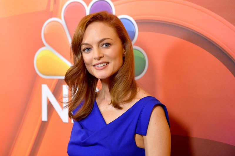 Actor Heather Graham at the NBCUniversal Summer TCA Press Tour at The Beverly Hilton Hotel on August 3, 2017 i