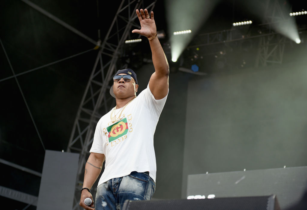 LL Cool J performs onstage