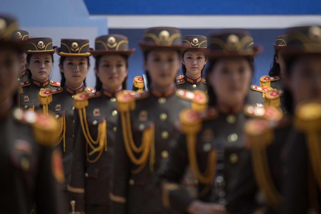 female members of the north korean army