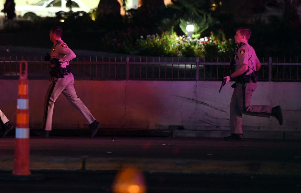 police responding to Las Vegas
