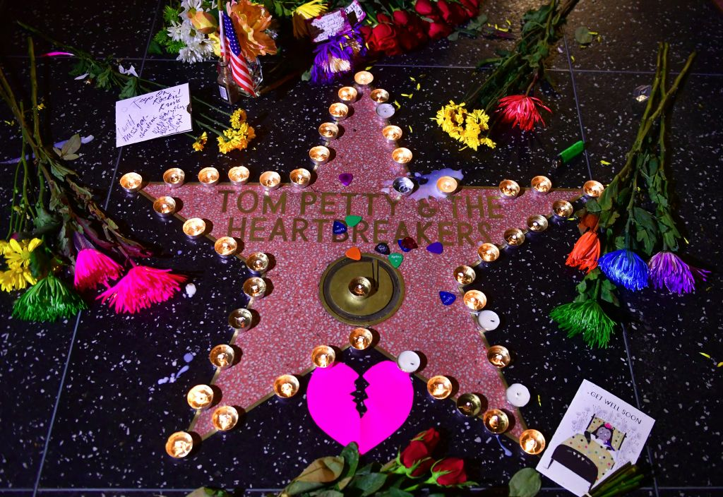 Tom Petty Hollywood star