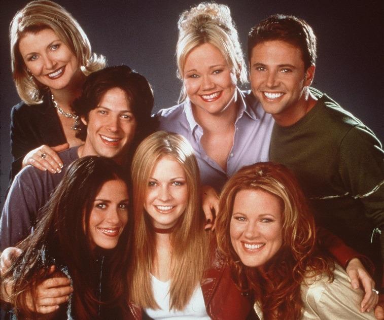 The cast of Sabrina the Teenage Witch Season Season 6