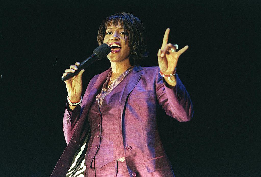 Whitney Houston singing
