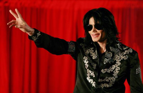 Michael Jackson at O2 arena