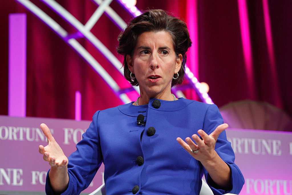 Governor of Rhode Island Gina Raimondo
