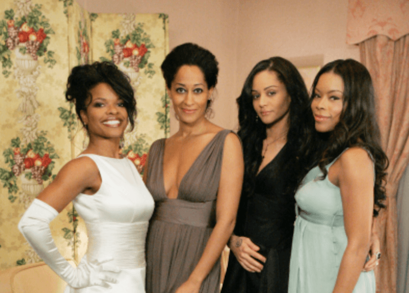 the cast of girlfriends in dresses