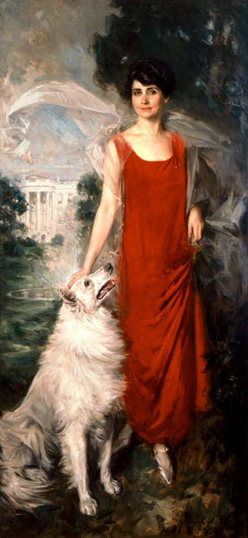 Grace Coolidge portrait