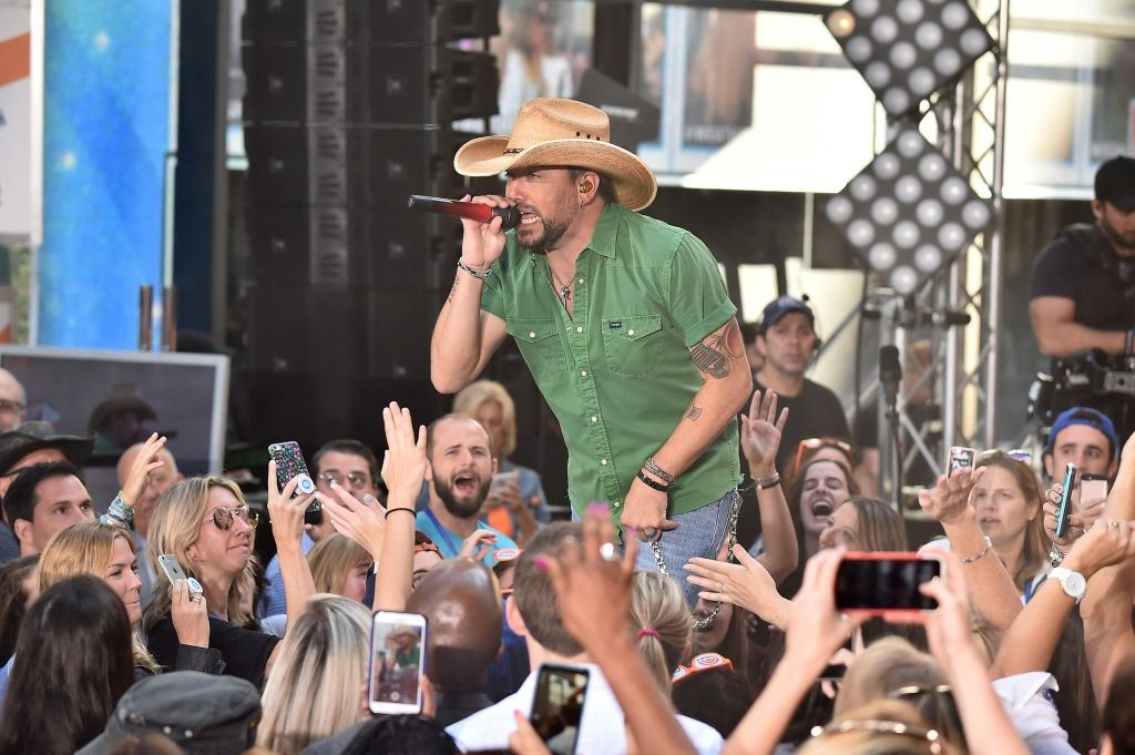 "Jason Aldean performs on ""Today"""