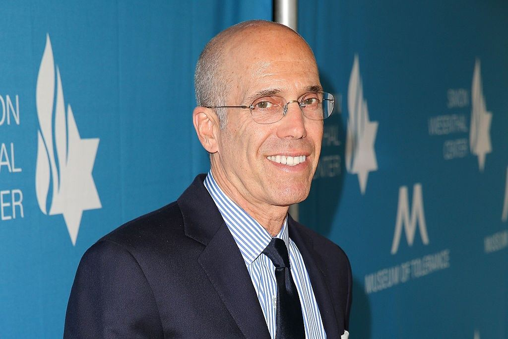 Jeffrey Katzenberg attends dinner honoring Harvey Weinstein