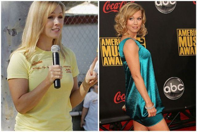 Jennie Garth's weight loss and body transformation.