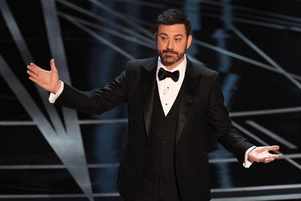 Jimmy Kimmel at the Oscars