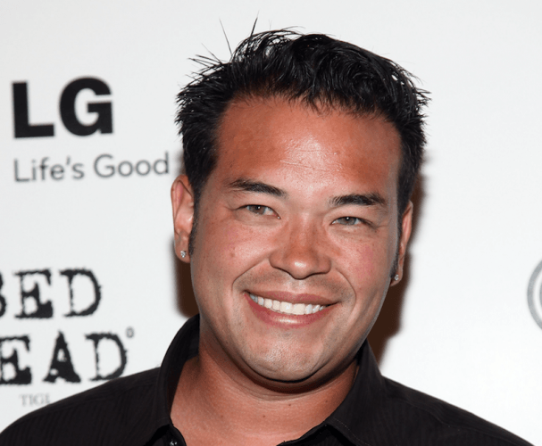 Jon Gosselin smiling and looking straight ahead.