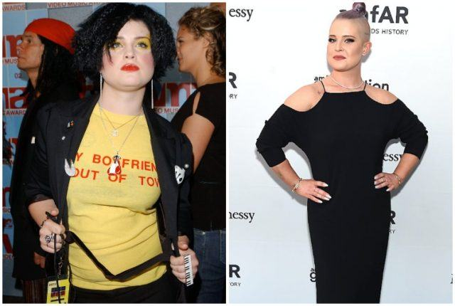 Kelly Osbourne's weight loss transformation.