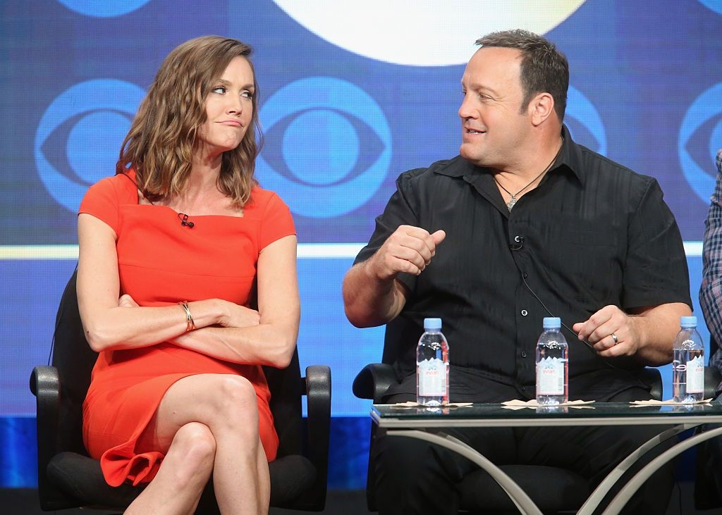 Actress Erinn Hayes and actor/executive producer Kevin James