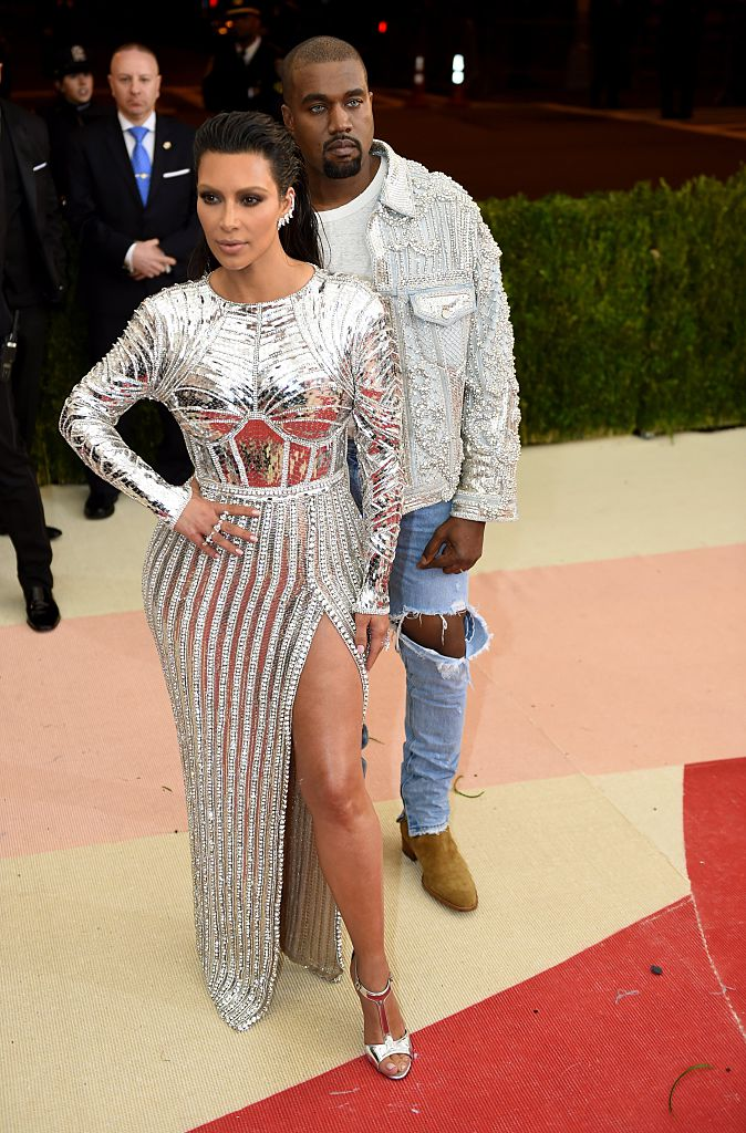 Kim Kardashian and Kanye West Met Gala