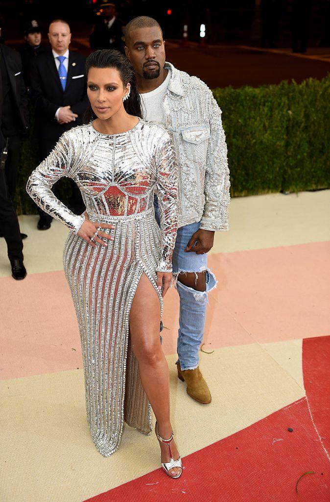 Kim Kardashian and Kanye West Met Gala