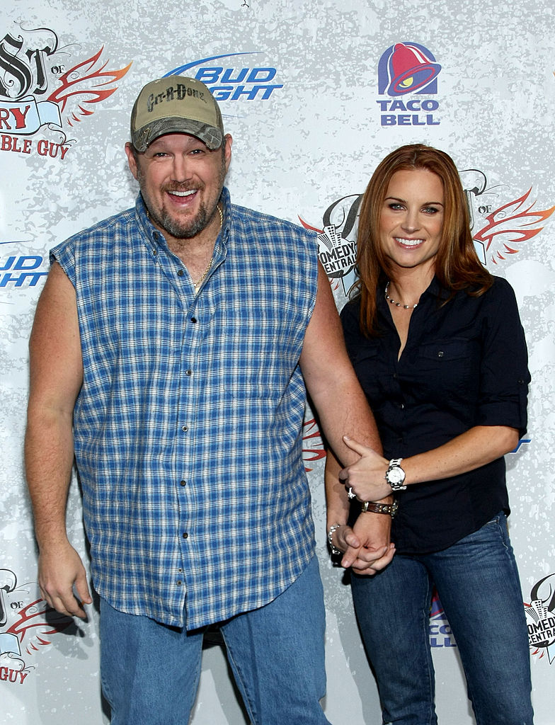 Larry The Cable Guy and wife Cara Whitney
